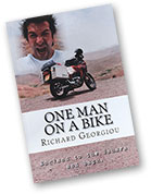 One Man on a Bike, Sahara and back